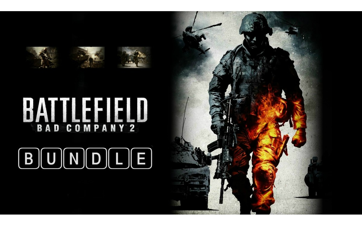 Battlefield Bad Company 2 Bundle купить ключ Steam
