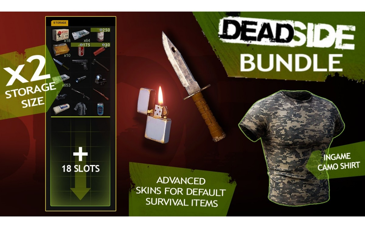 DEADSIDE + SUPPORTER PACK