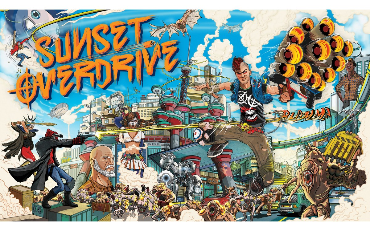 Sunset Overdrive купить ключ Steam