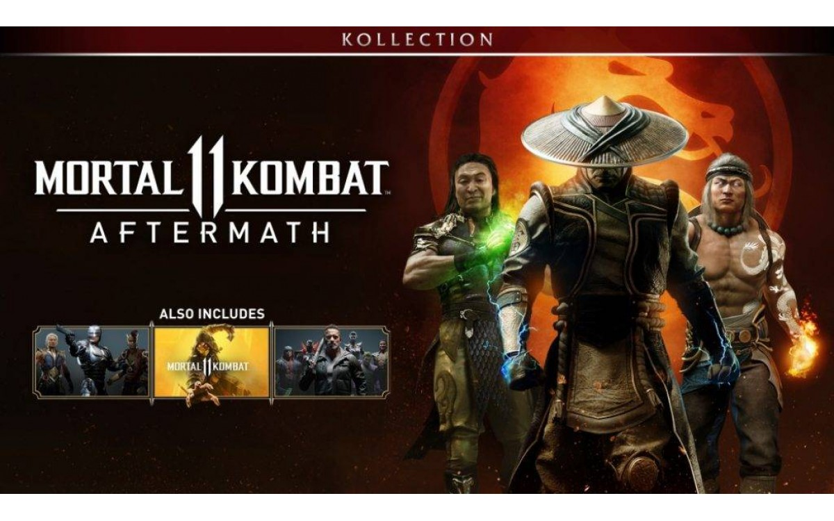 Mortal Kombat 11 Aftermath Collection купить ключ Steam